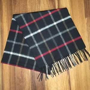 Black Red & White Scarf - Unisex / Men  / Women